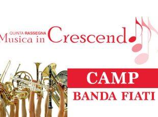 Le Masterclass di Musica in Crescendo Camp – Banda