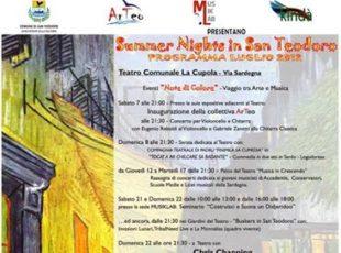 I Rassegna di Note di Colore – Summer Nights in San Teodoro