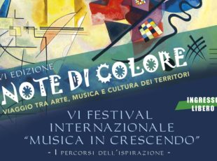 Note di Colore – VI Festival Internazionale Musica in Crescendo