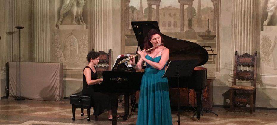 Mercoledì 8 Luglio -  Concerto della flautista Luisa Sello